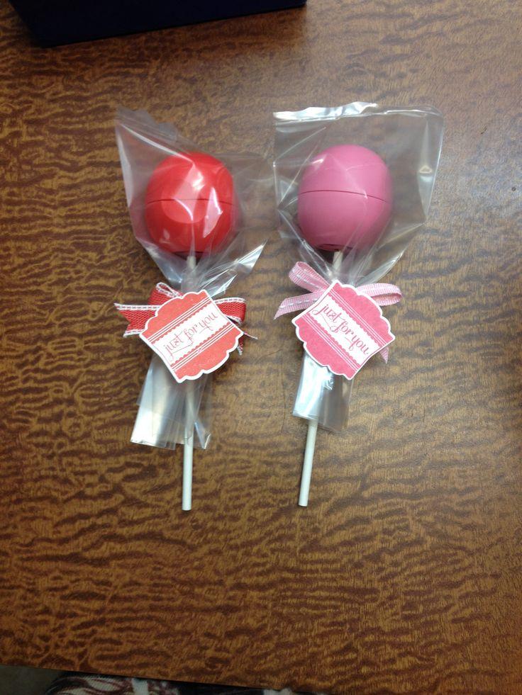 Eos lip balm lollipops -November 2013 OMG, cutest gift ever
