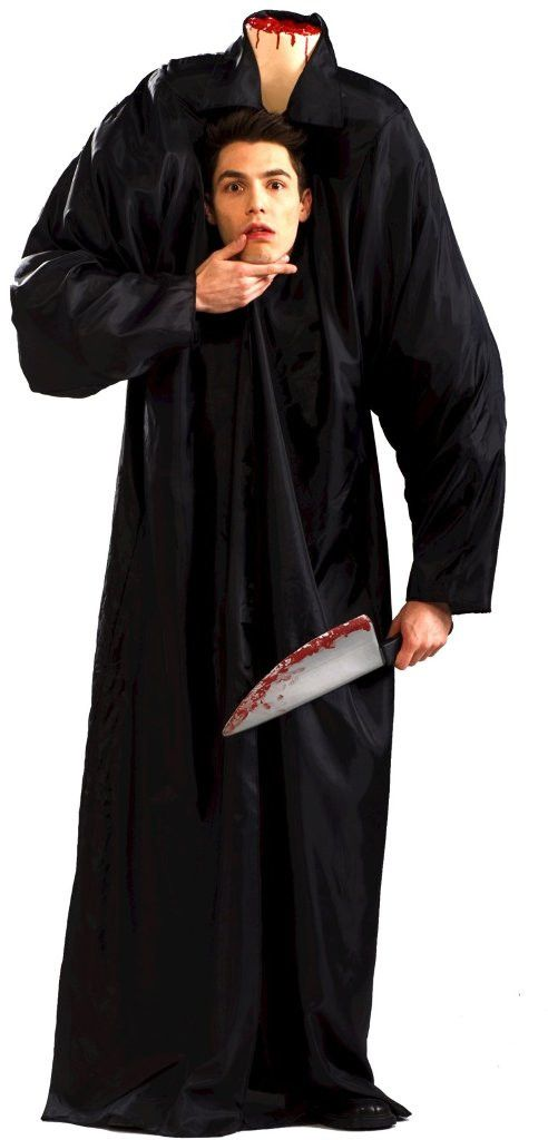 headless man adult halloween costume size standard headless man adult halloween costume size standard includes harness and robe