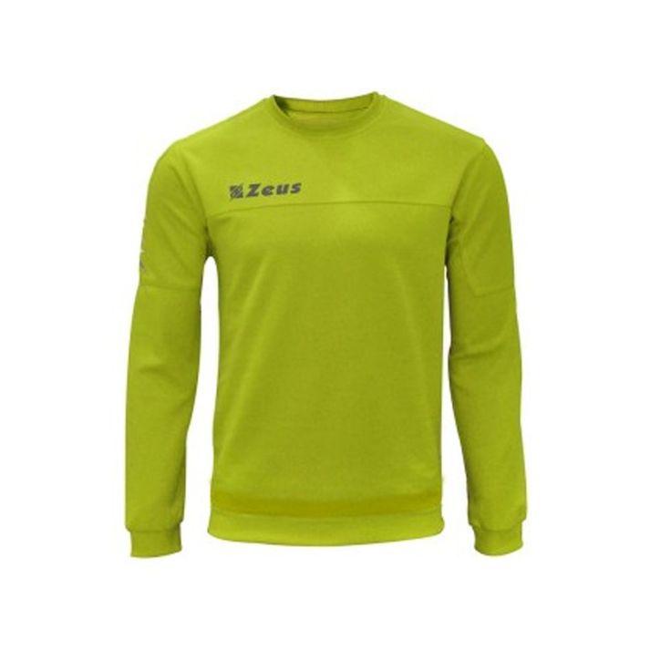 Felpa Zeus modello Enea per relax, allenamento e corsa. Tessuto 85% poliestere 15% cotone disponbile in varie taglie e colori. #Pegashop il tuo rivenditore di fiducia abbigliamento sportivo uomo e donna.