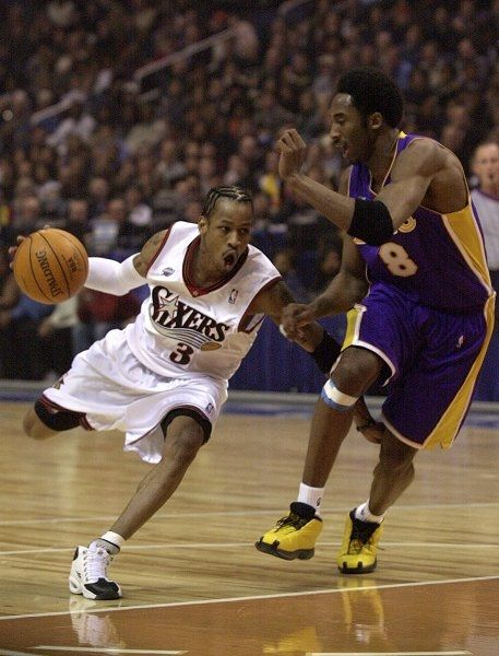 Allen Iverson  Kobe Bryant  Check out more Kobe Bryant at:  http://weheartlakers.com    Get NBA updates with  http://hoopsternation.com