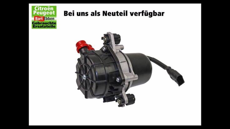 #Peugeot 206 #Luftpumpe #Abgasrückführsystem 1.4 8V KFW 1618C0 neu. #Peugeot206 Abgasrückführsystem elektrische Luftpumpe für 1.4 8V KFW neu finden Sie hier: https://bartebben.de/map/autoteile/pe...  Pumpe zum Luftzufuhr des Abgasrückführsystems nicht mehr lieferbar von Peugeot. Bei richtiger Fehlerdiagnose sollte das Problem gelöst sein, wenn die Pumpe einfach getauscht wird !