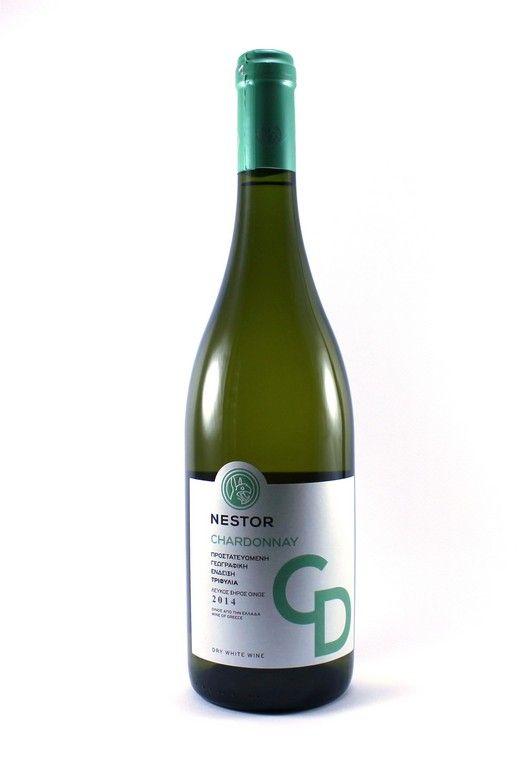 ''NESTOR'' Chardonnay White Dry Wine 750ml