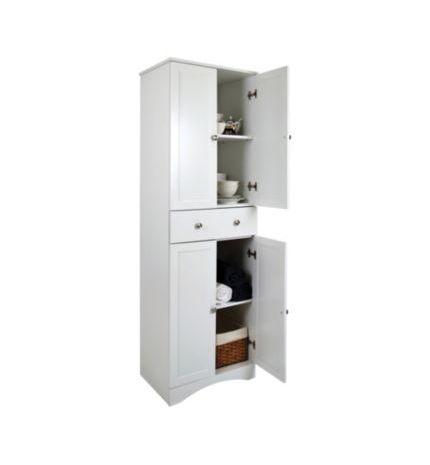 Canadian Tire 4 Door Storage Cabinet With Drawer Meubles Salle De Bain Pinterest Door