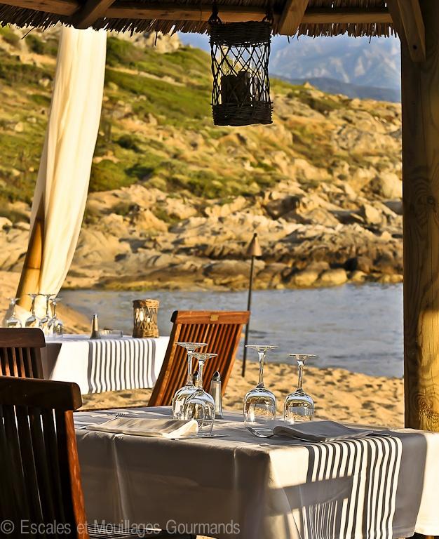 Restaurant Le Matahari, Plage de l'Arinella, Lumio, Corsica