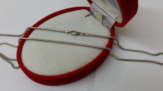 Schlangenkette 925 Länge 435 cm Halskette HK208 von Schmuckbaron