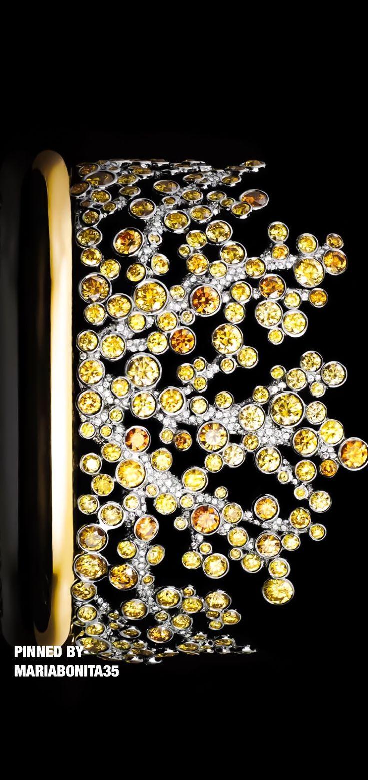 Tiffany & Co Yellow Diamond Cuff