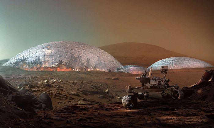 BIG postaví u Dubaje město simulující život na Marsu