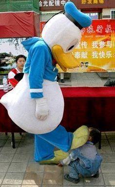 【おもしろ画像】中国のドナルド