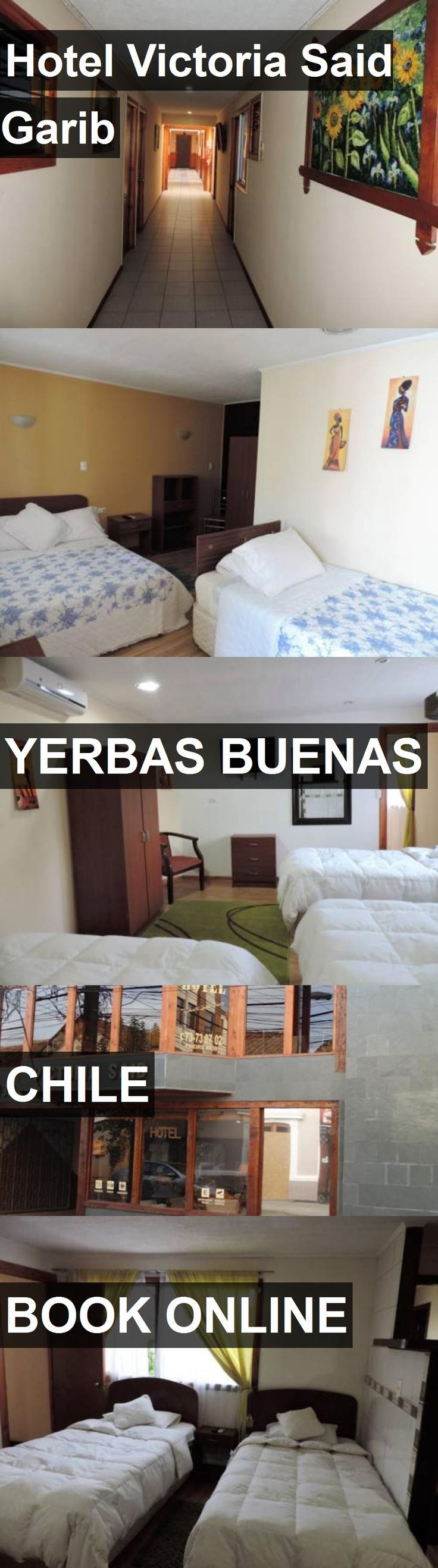 Hotel Victoria Said Garib in Yerbas Buenas, Chile. For more information, photos, reviews and best prices please follow the link. #Chile #YerbasBuenas #travel #vacation #hotel