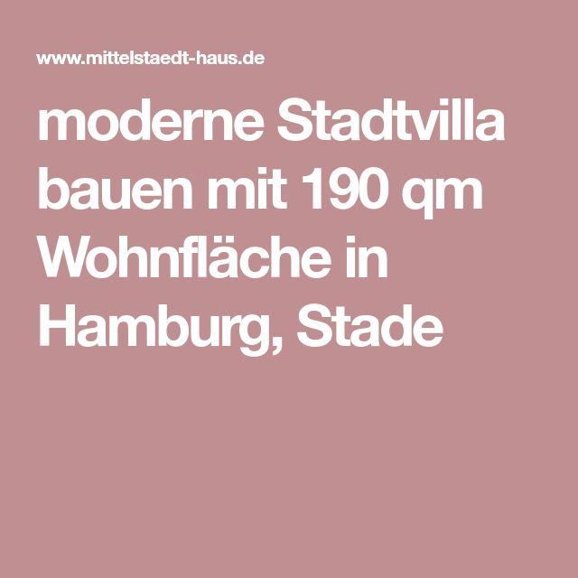 moderne Stadtvilla bauen mit 190 qm Wohnfläche in Hamburg, Stade