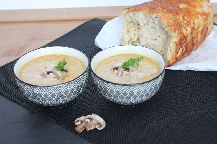 Mushroom Soup http://www.onekitchenblog.com/?p=807