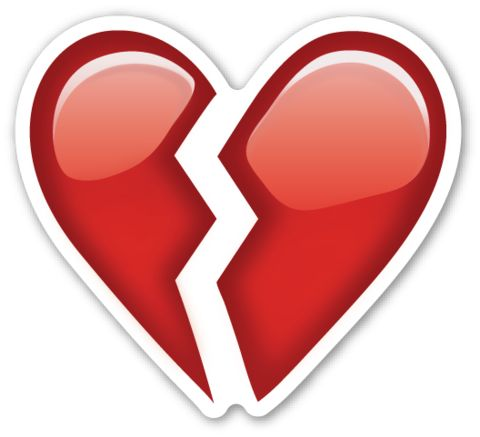 Broken Heart | EmojiStickers.com