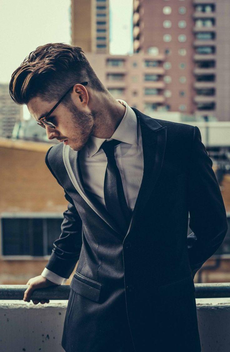 coupe de cheveux homme 2016 , undercut et frange en arrière