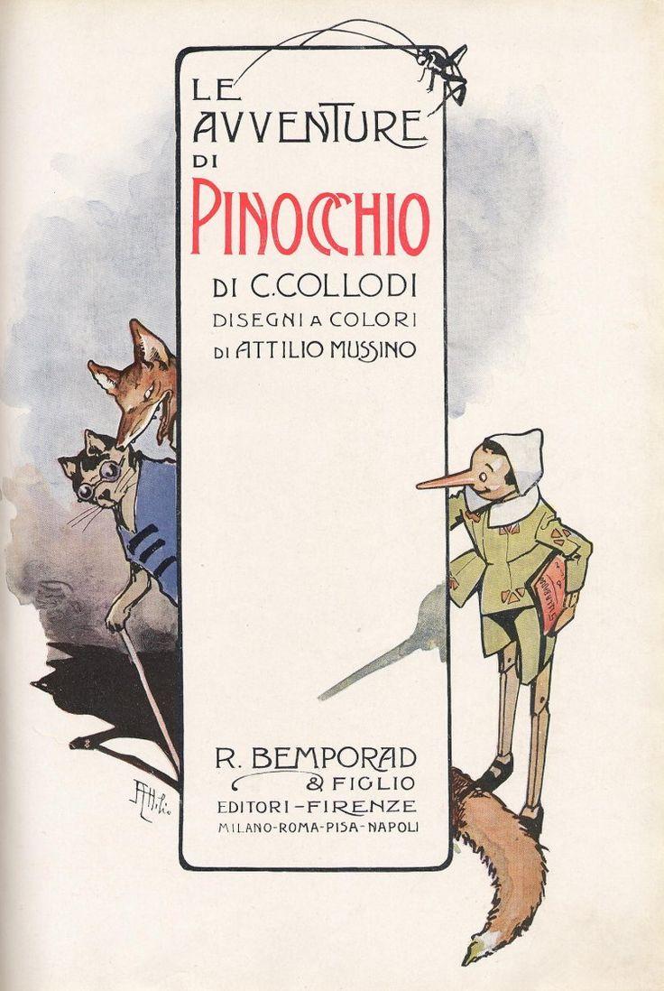 """26 ottobre 1890: muore a Firenze Carlo Lorenzini, più noto come Carlo Collodi, divenuto celebre come autore del romanzo """"Le avventure di Pinocchio. Storia di un burattino"""", o, più semplicemente, """"Pinocchio"""" (clic sulla copertina per proseguire la lettura)"""