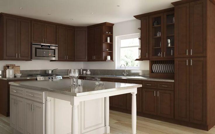 Signature Chocolate RTA Kitchen Cabinets