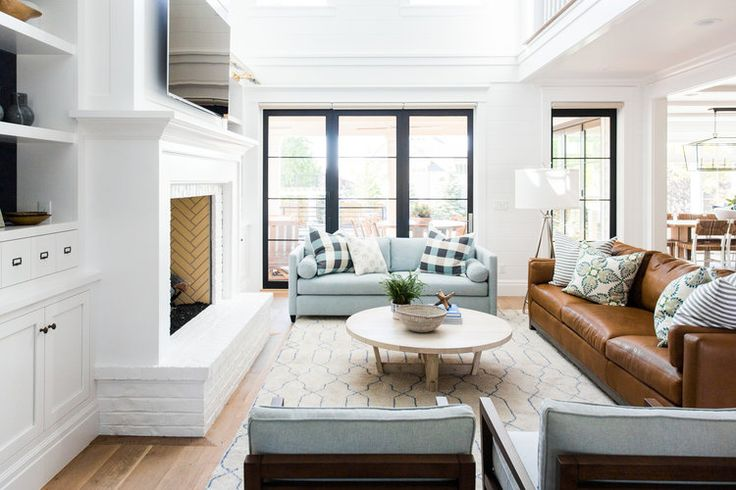 A before/after tour of Studio McGee's latest project that has a very modern farmhouse meets The Hamptons vibe.