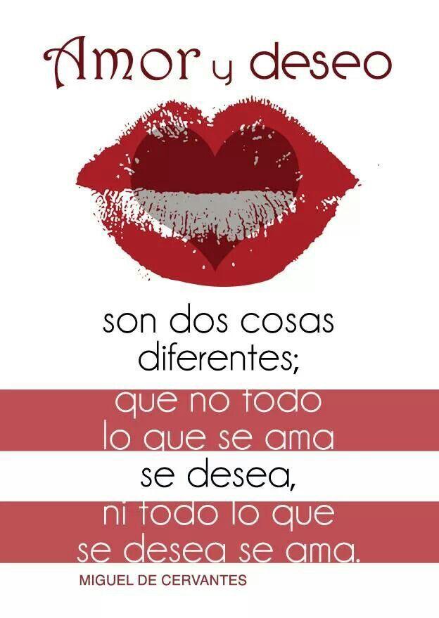 Amor y deseo...