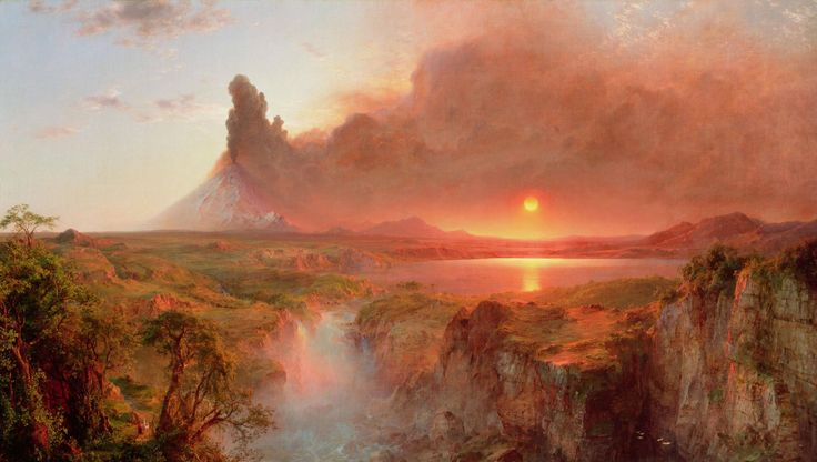 Cotopaxi, Frederic Edwin Church, Oil on canvas, 1862