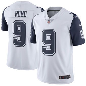 Tony Romo Dallas Cowboys Nike Color Rush Limited Jersey - White ... f09acec5b