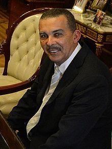 Anthony Carmona en juin 2014. (Trinité et Tobago)