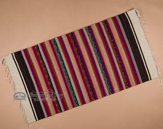 "Southwest Zapotec Indian Rug 30""""x60"""" (14)"