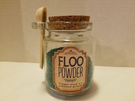 Harry Potter Inspired Floo Powder Potion Bottle Diy Harry Potter Crafts Harry Potter Diy Potion Bottle