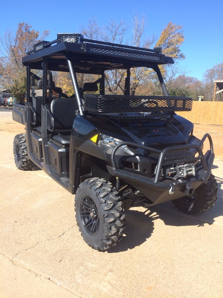 2015 Polaris Ranger Crew 900 Finished Texasbowhunter