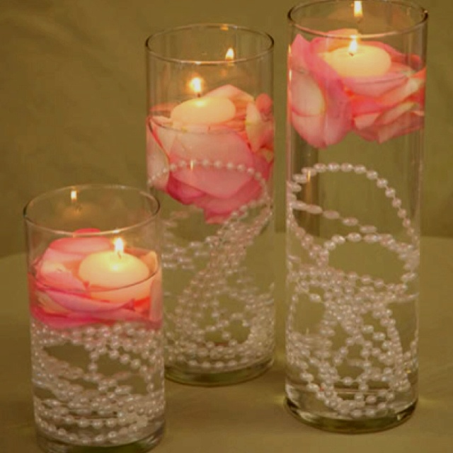 Floating Candle Centerpieces For Tables Ideas: 180 Best Images About Decorating 1 On Pinterest
