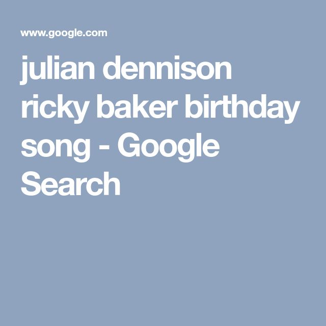 julian dennison ricky baker birthday song - Google Search