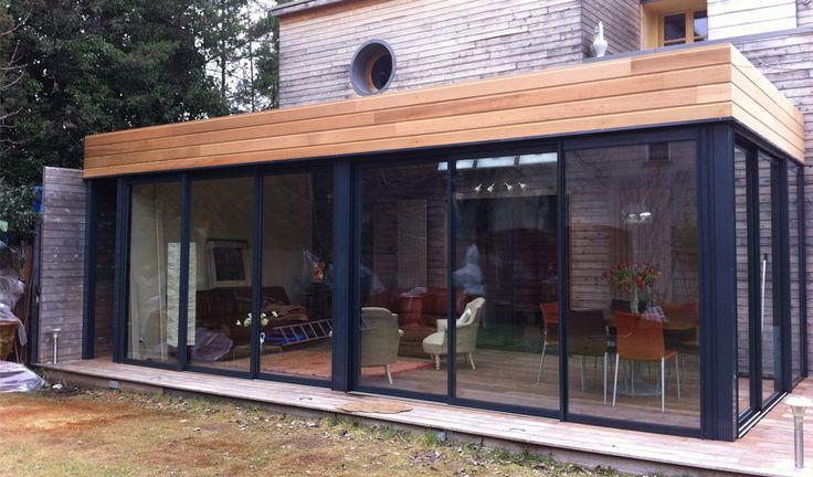 Veranda design ronde Montpellier vente agrandir verandas rotonde kiosque toiture verre victorien