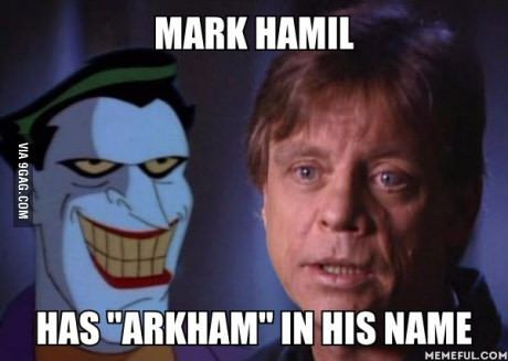 It was his destiny to voice the Joker
