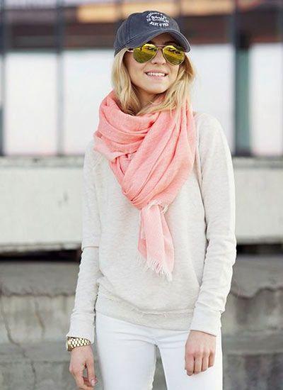 グレーとピンクの春らしい組み合わせ♡40代コーデ♪スタイル・ファッションの参考に☆