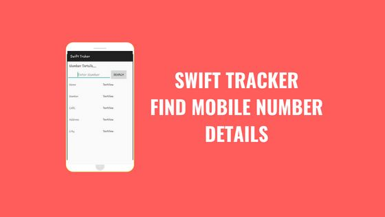 Download free Swift Tracker apk in Pakistan  You can find mobile