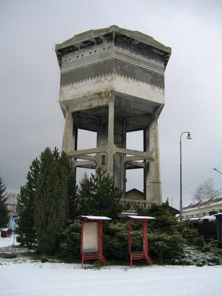 #Vrútky (Slovakia), Water tower