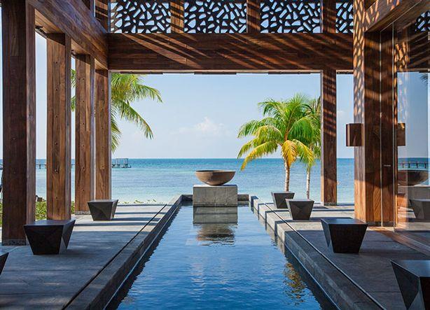 The bar at #Nizuc Resort & Spa #Mexico, just 1/2 hour from Cancun! #beach #luxurytravel #rivieramaya