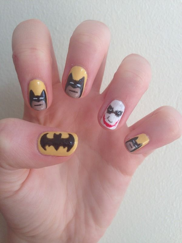 My Batman nails