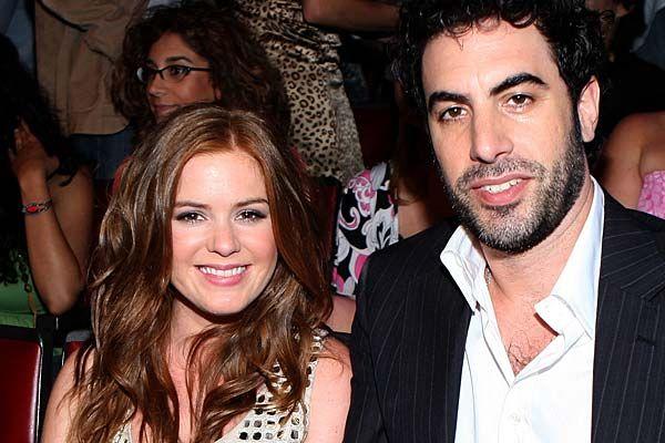Isla Fisher Expecting Third Baby With Husband Sacha Baron Cohen #Elula, #IslaFisher, #SachaBaronCohen, #TheDictator