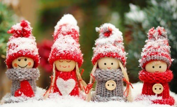 Jouets de Noël de bonneterie