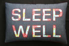 3. Sleep well