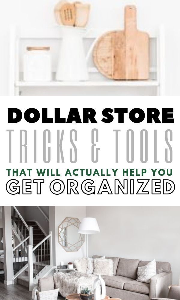 19 Dollar Store Organization Hacks You Can Actually Use