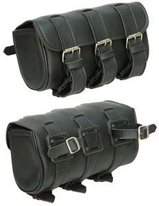 Large Triple Strap Motorcycle Tool Bag
