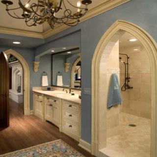 Love the shower entrance!