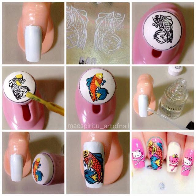 81 best nail stamping decals images on Pinterest | Nail scissors ...