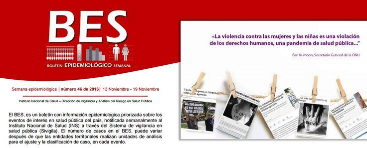 SGSST | Boletín Epidemiologico 13 Noviembre - 19 Noviembre 2016