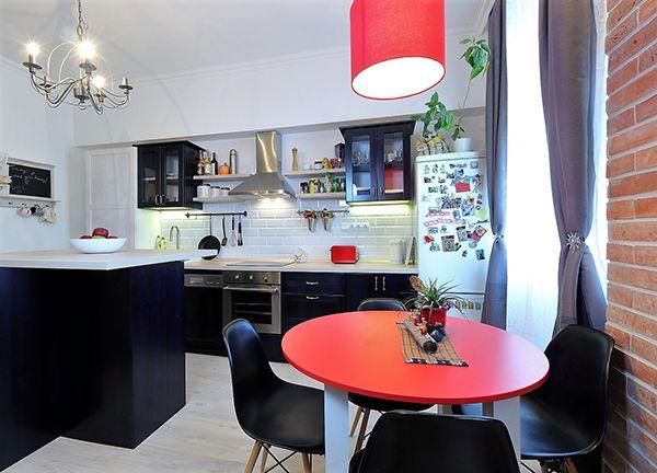 Egy amerikai konyhás nappali Rákospalotán - Otthon - lakaskultura.hu