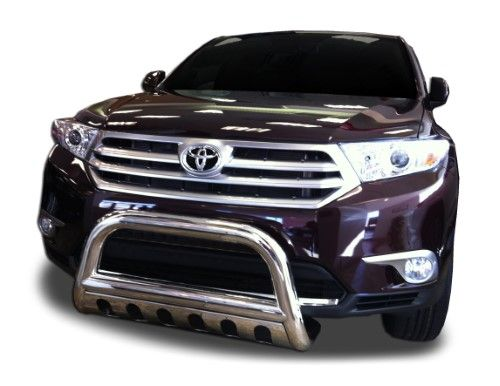 Toyota Highlander Hybrid Bull Bar Fits 2008 2010 Models Protection Accessories Dwto 732 33 Silver