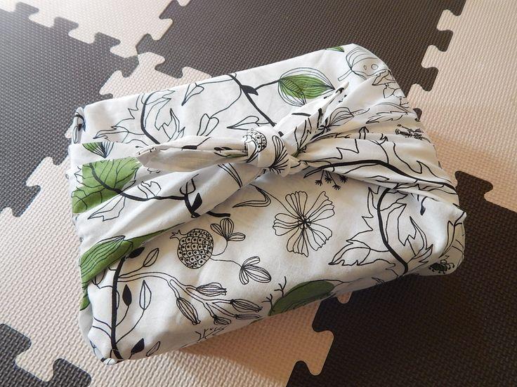 DIY Furoshiki Gift Wrap11