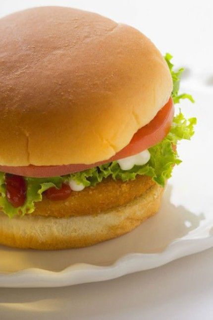 Weight Watchers Recipes with Points | Weight Watchers Chicken Burgers recipe – 3 points-172 cals