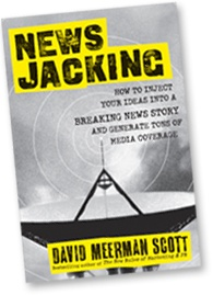 In Newsjacking, marketing and PR expert and bestselling author David Meerman Scott offers a quick and punchy read that prepares you to launch your business ahead of the competition and attract the attention of highly-engaged audiences by taking advantage of breaking news.