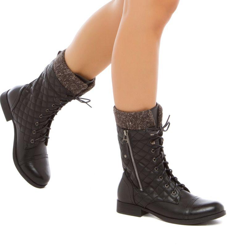 de polyvore · Delecia Boots